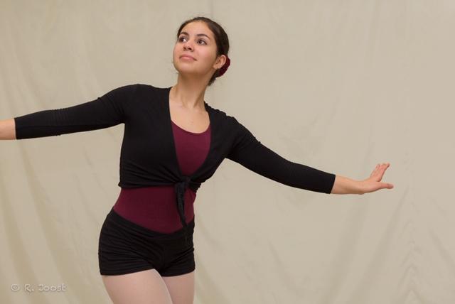 Fototermin in der Ballettschule