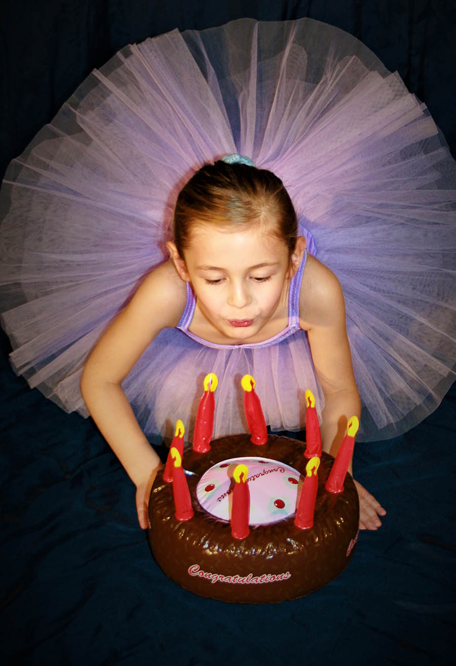 Kindergeburtstag in der Ballettschule